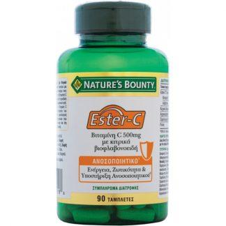 Nature's Bounty Εster Vitamin C 500mg 90tabs
