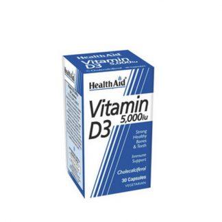 HealthAid Vitamin D3 5000IU 30 Τabs