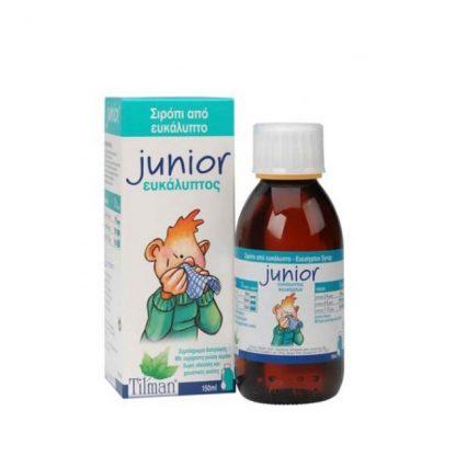 Tilman Junior Eucalyptus Φυτικό Σιρόπι 150ml
