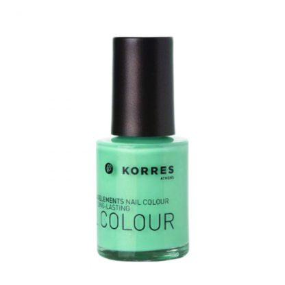 Korres Nail Colour 38 Bright Mint 10ml