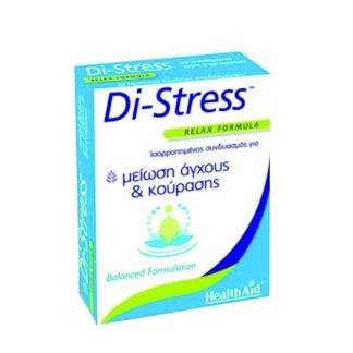 Health Aid Di-Stress Relax Formula 30tabs