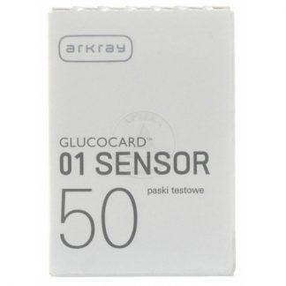 Glucocard 01 Sensor Ταινίες Μέτρησης Σακχάρου 50τμχ