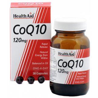 Health Aid Conergy CoQ10 120mg 30tabs