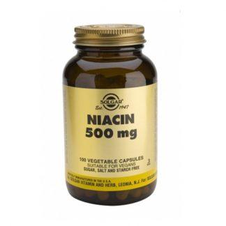 Solgar Niacin (B3) 500mg 100tabs