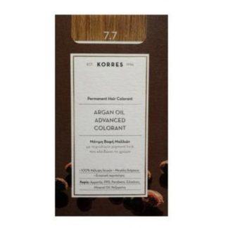 Korres Argan Oil Advanced Colorant 7.7 Μόκα