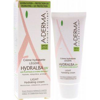 A-Derma Hydralba Creme Hydradante UV Legere SPF20 40ml