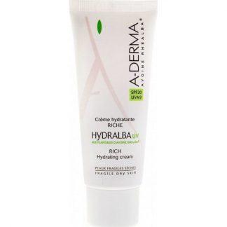 A-Derma Hydralba Creme Hydradante UV Riche SPF20 40ml