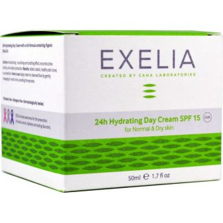 Exelia Anti-Wrinkle Day Cream SPF15 για Ξηρές Επιδερμίδες 50ml