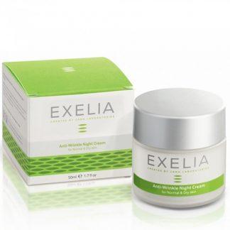Exelia Anti-Wrinkle Night Cream για Κανονικές/Ξηρές Επιδερμίδες 50ml