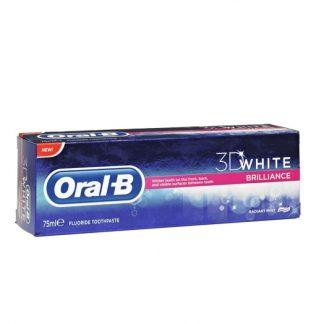 Oral B 3D White Brilliance Οδοντόπαστα 75ml
