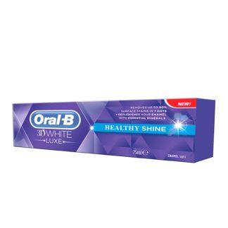 Oral B 3D White Healthy Shine Οδοντόπαστα 75ml