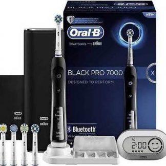 Oral-B Black Pro 7000 SmartSeries  Blootooth Επαναφορτιζόμενη Ηλεκτρική Οδοντόβουρτσα