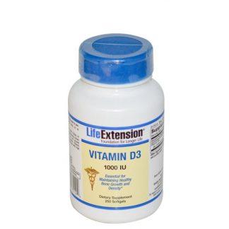 Life Extension Vitamin D3 1000IU 250caps
