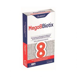 Quest Mega 8 Biotix 30caps
