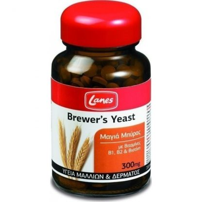 Lanes Brewers Yeast Mαγιά Μπύρας 300mg 200caps