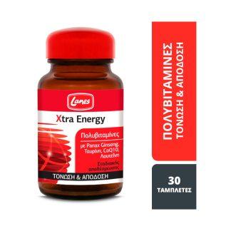 Lanes Multi Xtra Energy 30tabs