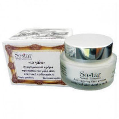 Sostar Το Γάλα Αντιγηραντική Κρέμα Προσώπου & Λαιμού 50ml