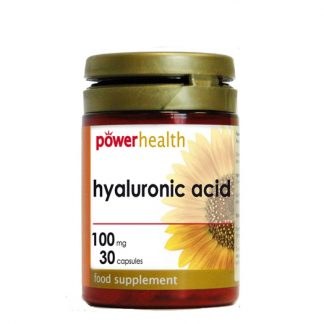 Power Health Hyaluronic Acid 100mg 30caps