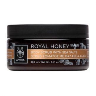 Apivita Royal Honey Body Scrub με Θαλάσσια Άλατα και Μέλι 250gr