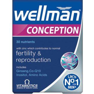 Vitabiotics Wellman Conception 30tabs