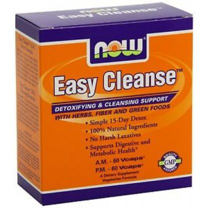 Now Easy Cleanse A.M. 60Vcaps