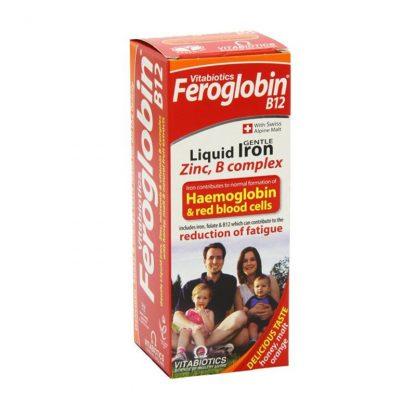 Vitabiotics Feroglobin B12 Iron Supplement Liquid 200ml