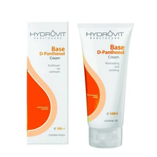 Hydrovit Base D-Panthenol Cream για Ενυδάτωση και Ανάπλαση της Επιδερμίδας 100ml