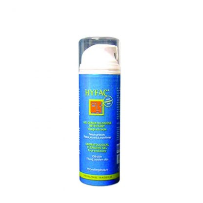 Hyfac Plus Gel Nettoyant Υγρό Καθαρισμού για Πρόσωπο και Σώμα 150ml