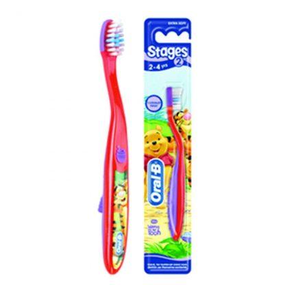 Oral-B Stages 2 Οδοντόβουρτσα για Παιδιά (2-4 χρονών)