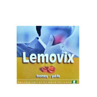 Lemovix Παστίλιες με Λεμόνι, Μέλι και Βιταμίνη C Χωρίς Ζάχαρη 16τμχ