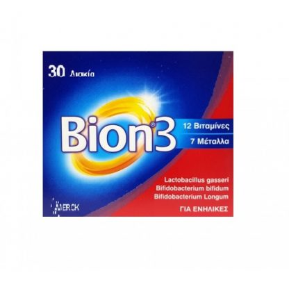 Bion 3 Πολυβιταμινούχο Συμπλήρωμα 30tabs