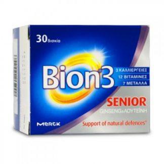 Bion 3 Senior Πολυβιταμινούχο Συμπλήρωμα 30tabs