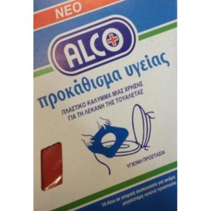 Alco Προκάθισμα Υγείας 10τμχ