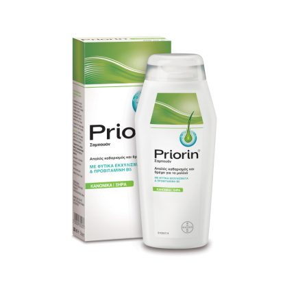 Priorin Shampoo για Κανονικά & Ξηρά Mαλλιά 200ml