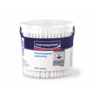 Ηansaplast Cotton Stick Mπατονέτες 200τμχ