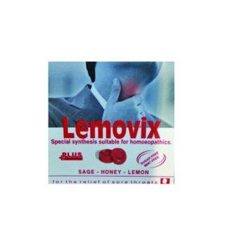 Lemovix Παστίλιες με Φασκόμηλο και Βιταμίνη C Χωρίς Ζάχαρη 16τμχ