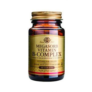 Solgar Megasorb B - Complex 50tabs