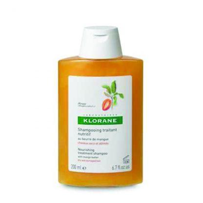 Klorane Shampoo Mango Butter Για Ξηρά – Ταλαιπωρημένα Μαλλιά 200ml