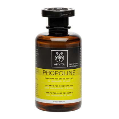 Apivita Propoline Shampoo Σαμπουάν για Συχνό Λούσιμο με Χαμομήλι & Μέλι 250ml