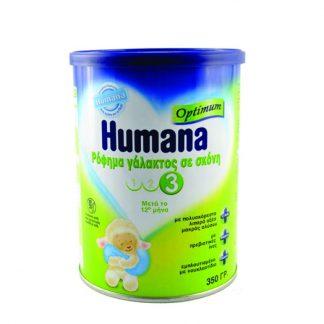 Humana Optimum 3 Βρεφικό Γάλα 350gr
