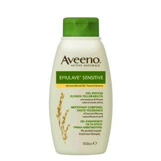 Aveeno Emulave Sensitive Yγρό Καθαρισμού 500ml