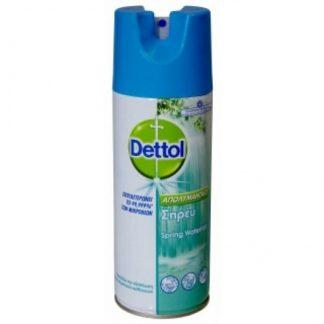 Dettol Απολυμαντικό Σπρέϋ Spring Water 400ml