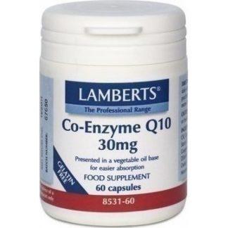 Lamberts Co-Enzyme Q10 30mg 60caps
