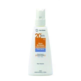 Frezyderm Sun Screen Clear Spray SPF20 150ml
