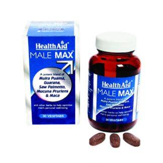 Health Aid Male Max, 30tabs