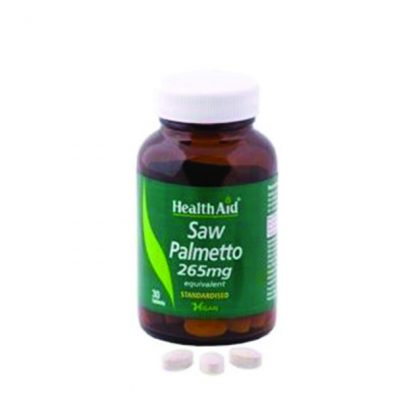 Health Aid Saw Palmetto 265mg 30tabs