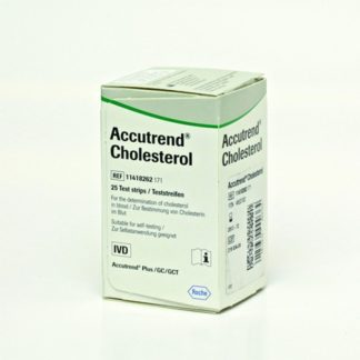 Accutrend Cholesterol Ταινίες Μέτρησης Χοληστερόλης 25τμχ