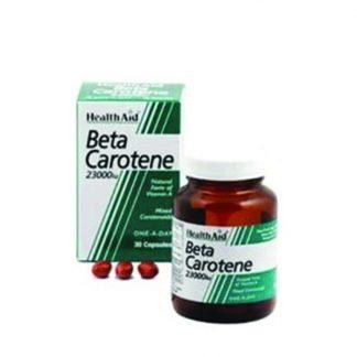 Health Aid Beta Carotene 23000IU 30caps