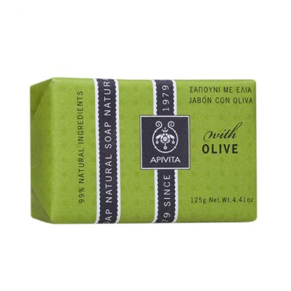 Apivita Natural Soap με Ελιά 125gr
