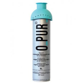O-PUR Φιάλη Οξυγόνου Ελβετίας 8 ltr